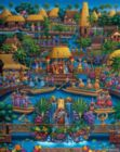 Polynesian Cultural Center - 500pc Jigsaw Puzzle by Dowdle