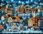 Alpine Christmas - 1000pc Jigsaw Puzzle by Dowdle