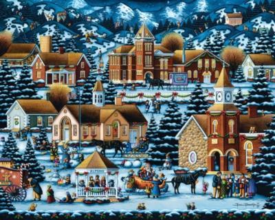 Dowdle Jigsaw Puzzles - Alpine Christmas