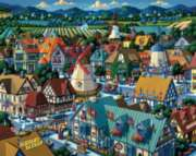 Dowdle Jigsaw Puzzles - Solvang