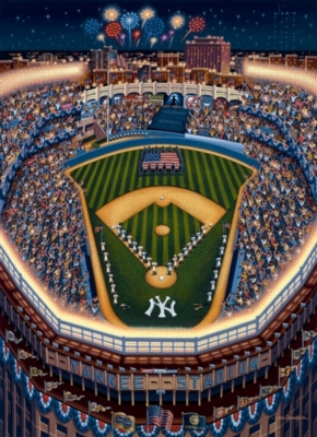 Yankee Stadium - 1000pc Jigsaw Puzzle by Dowdle