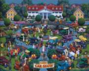 Classic Car Show - 1000pc Jigsaw Puzzle by Dowdle