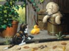 Three Buddies - 1000pc Jigsaw Puzzle By Sunsout