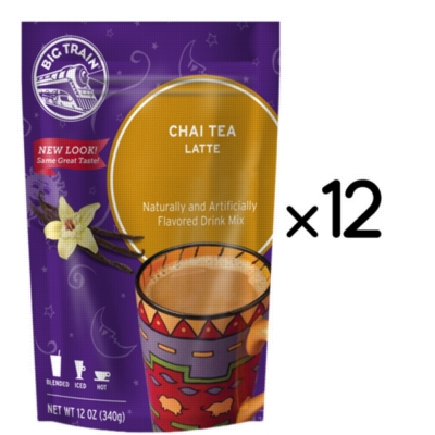 Big Train Chai - 12 oz. Retail Bag Assorted Case