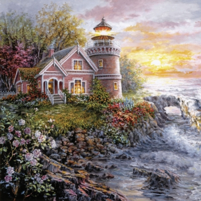 Seafarer's Vigilant Sentry - 1000pc Jigsaw Puzzle By Sunsout