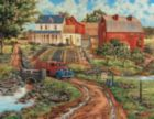 Grandma's Garden - 1000+pc Large Format Jigsaw Puzzle By Sunsout