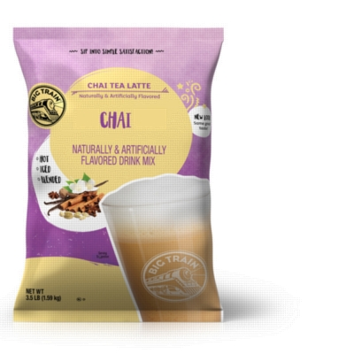 Big Train Chai Tea Powder Mix - 3.5 lb. Bulk Bag
