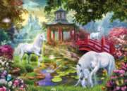 Large Format Jigsaw Puzzles - Unicorn Summer House