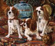 3 Cavaliers - 300pc Large Format Jigsaw Puzzle By Sunsout