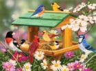 Spring Feast - 1000pc Spring Jigsaw Puzzle By Sunsout