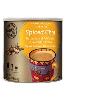 Big Train Chai Tea - 2 lb. Low Carb Can