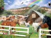 Jigsaw Puzzles - Best Friends Horses