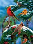 Christmas Puzzles - Winter Cheer - Large