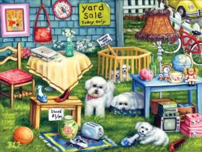 Yard Sale - 500pc Jigsaw Puzzle By Sunsout