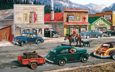 Along the Yukon - 300pc Large Format Jigsaw Puzzle By Sunsout