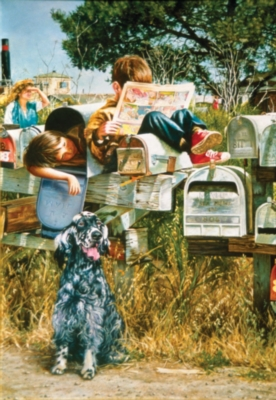 Waiting for the Mailman - 500pc Jigsaw Puzzle By Sunsout