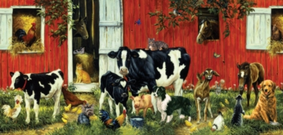 Jigsaw Puzzles - Back on the Farm