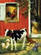 Jigsaw Puzzles - Barnyard Brood