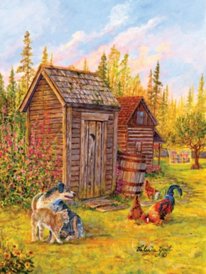 Country Patchwork - 500pc Jigsaw Puzzle By Sunsout