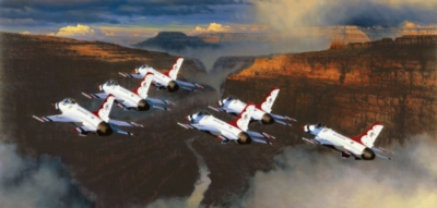 Jigsaw Puzzles - Thunder in the Canyon