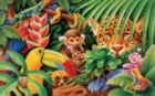 Jungle Animals - 300pc Large Format Jigsaw Puzzle By Sunsout