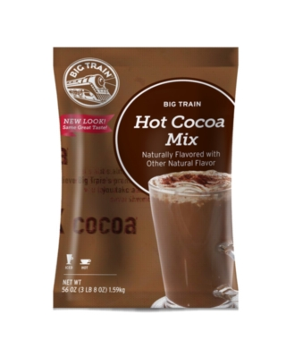 Big Train Dark Chocolate Cocoa - 3.5 lb. Bulk Bag