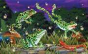 Leap Frogs - 100pc Jigsaw Puzzle By Sunsout