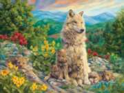 Wolves Puzzles - Family Time