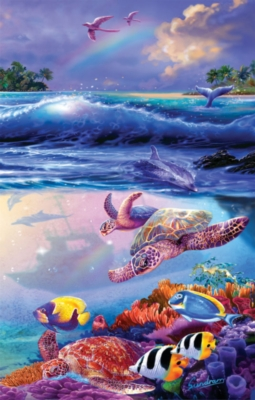 The Divers - 1000pc Jigsaw Puzzle By Sunsout