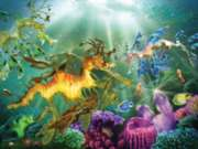 Here Be Sea Dragons - 500pc Jigsaw Puzzle By Sunsout