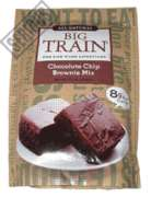 Big Train Low Carb Chocolate Chip Brownie Mix - 11 oz. Bag