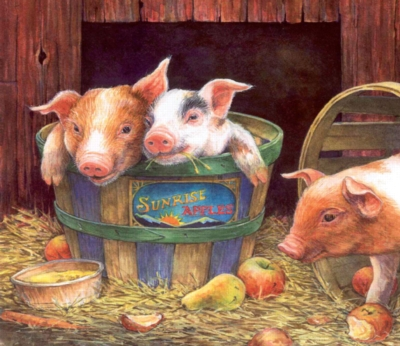 Jigsaw Puzzles for Kids - Three Pigs