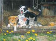 Best of Friends - 63pc Jigsaw Puzzle By Sunsout