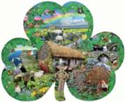 Irish Charm - 1000pc Shaped Jigsaw Puzzle By Sunsout