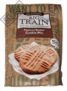 Big Train Low Carb Peanut Butter Cookie Mix - 10.3 oz. Bag