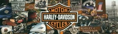Panoramic Jigsaw Puzzles - Harley Davidson