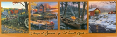 Panoramic Jigsaw Puzzles - Change of Seasons