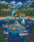 Lake Tahoe - 1000pc Jigsaw Puzzle by Dowdle