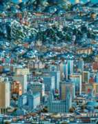 Salt Lake Winter - 1000pc Jigsaw Puzzle by Dowdle