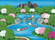 Swan Boats - 300pc Jigsaw by Pastime Puzzles