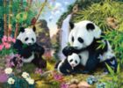 Bamboo Buffet - 500pc Glow-in-the-Dark Jigsaw Puzzle by Masterpieces
