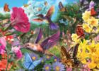 Floral Frenzy - 500pc Glow-in-the-Dark Jigsaw Puzzle by Masterpieces