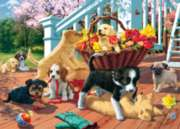 Play Date - 500pc Glow-in-the-Dark Jigsaw Puzzle by Masterpieces
