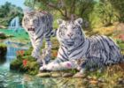 Jungle Royalty - 500pc Glow-in-the-Dark Jigsaw Puzzle by Masterpieces