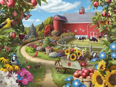 Corner of Your Life - 300pc EZ Grip Jigsaw Puzzle by Masterpieces