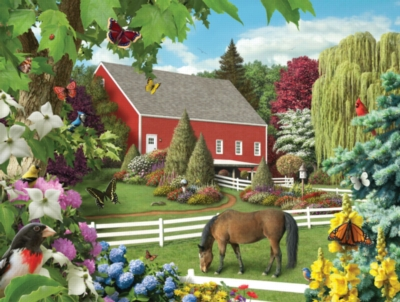 Leaves of Green - 300pc EZ Grip Jigsaw Puzzle by Masterpieces