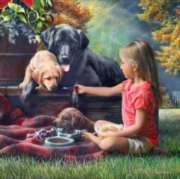 Sharing Time - 500pc Jigsaw Puzzle by Masterpieces