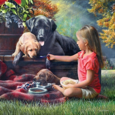 Jigsaw Puzzles - Sharing Time