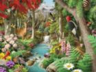 Down the Calming Stream - 750pc Jigsaw Puzzle by Masterpieces