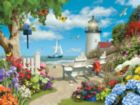 By the Peaceful Shore - 750pc Jigsaw Puzzle by Masterpieces